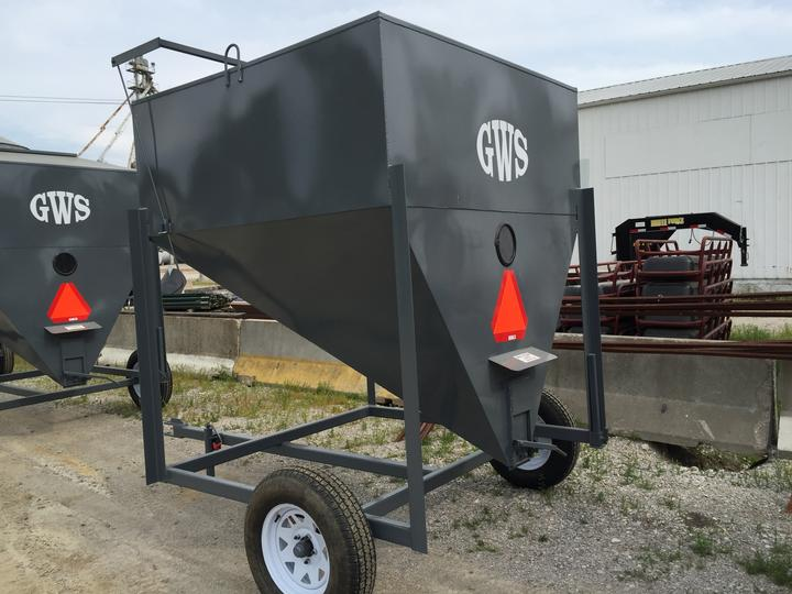 Portable Feed Storage Bins : Martinsburg farmers elevator
